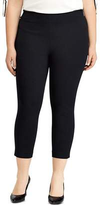 Ralph Lauren Stretch Twill Skinny Crop Pants