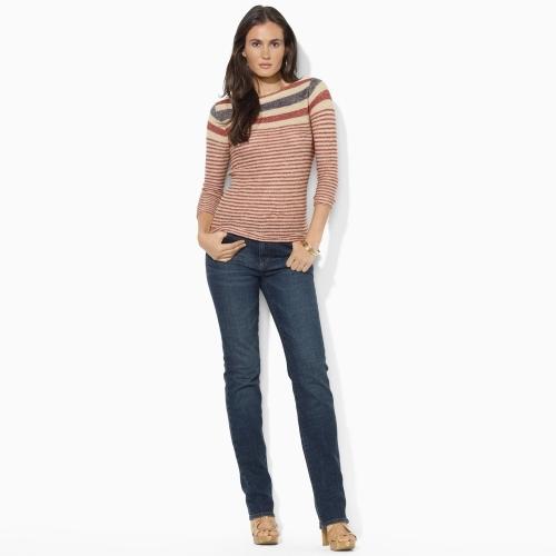 Lauren Ralph Lauren Ralph Slimming Classic Straight Jean