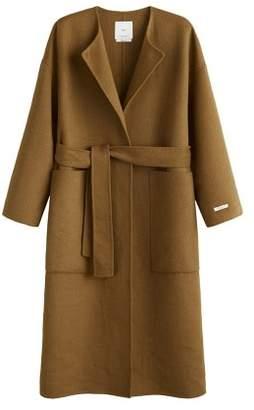 MANGO Belt handmade coat