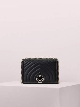Kate Spade Amelia Twistlock Medium Convertible Chain Shoulder Bag, Black