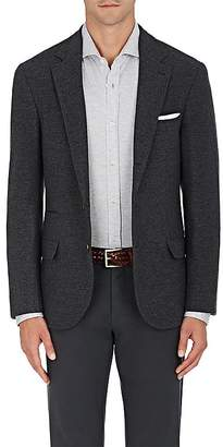Brunello Cucinelli Men's Mélange Wool-Cashmere Three-Button Sportcoat $3,495 thestylecure.com