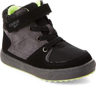 Osh Kosh B'gosh (Toddler Boys) Charcoal Maximus High-Top Sneakers