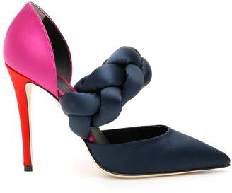 Marco De Vincenzo Satin Pumps