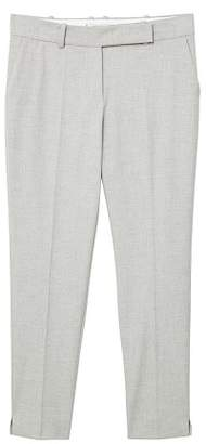 MANGO Flecked suit trousers