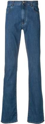 Canali straight-leg trousers