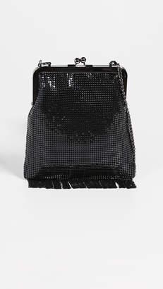 Whiting & Davis Gibson Girl Framed Crossbody Bag