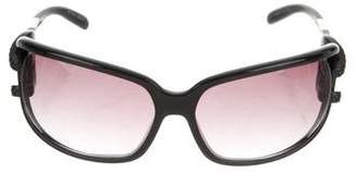 Jimmy Choo Rectangle Gradient Sunglasses