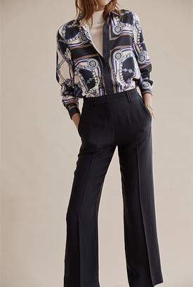 Country Road Self Stripe Wide Pant