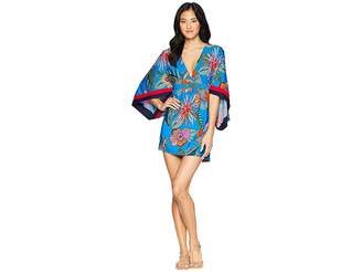 Trina Turk Tahiti Tropical Tunic Cover-Up