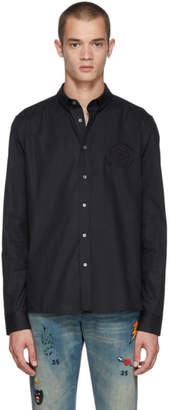 Balmain Black Crest Shirt