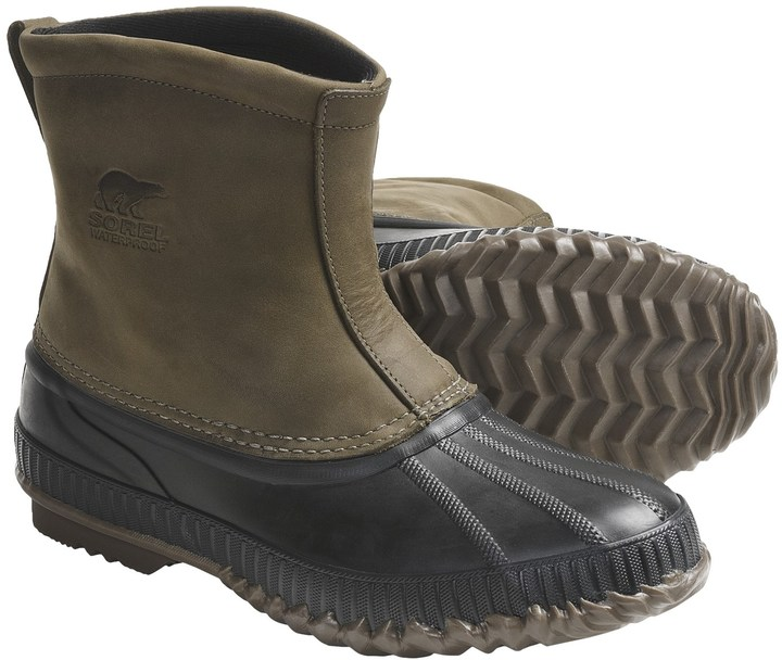 Sorel Cheyanne Premium Waterproof-Insulated Leather Boots (For Men)