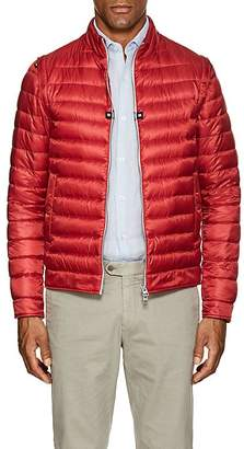 Herno MEN'S CONVERTIBLE DOWN-QUILTED JACKET
