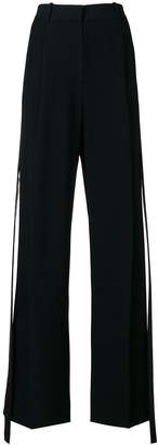 Givenchy side stripe tailored trousers