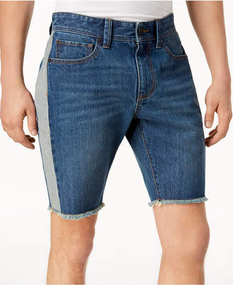 American Rag Men's Colorblocked Denim Shorts