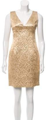 Michael Kors Brocade Mini Dress