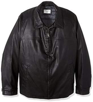 Dockers Big Smooth Lamb Faux Leather Laydown Collar