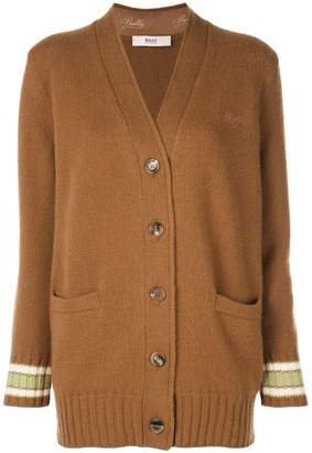 Bally long knitted cardigan