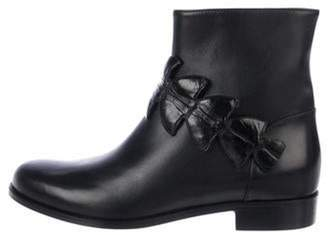 Fendi Leather Ankle Boots Black Leather Ankle Boots