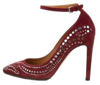 Isabel Marant Studded Ankle-Strap Pumps