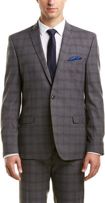 Nick Graham 2Pc Slim Fit Suit With Flat Pant