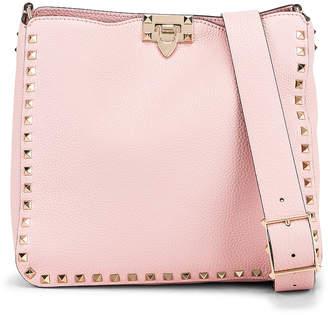 31263f35af Valentino Rockstud Shoulder Bag in Water Rose   FWRD