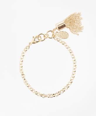Brooks Brothers Tassel Charm Bracelet