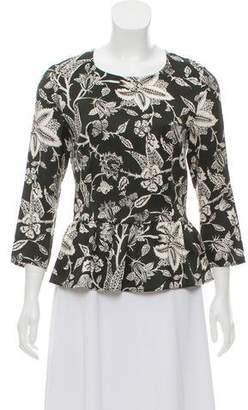 Isabel Marant Long Sleeve Peplum Top