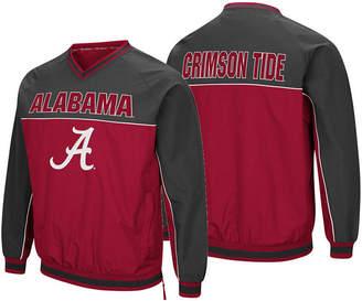 Colosseum Men's Alabama Crimson Tide Windbreaker Pullover Jacket