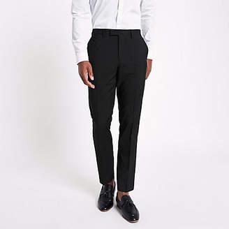 River Island Black slim fit suit pants