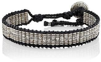 M. Cohen Men's Beaded Cord Bracelet
