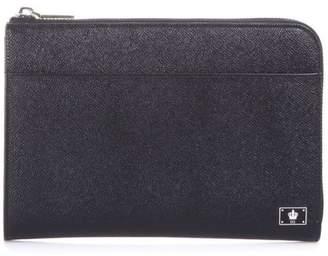 Dolce & Gabbana Dolce \u0026 Gabbana Dauphine Leather Tablet Case