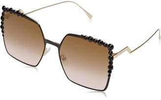 Fendi FF0259/S 2O5 FF0259/S Square Sunglasses Lens Category 3 Lens Mirror