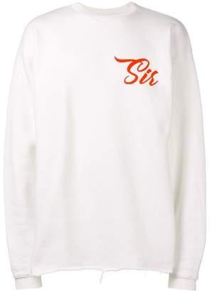 Paura Sir print sweatshirt