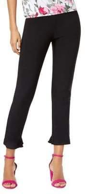 INC International Concepts Skinny Slit Hem Cropped Pants