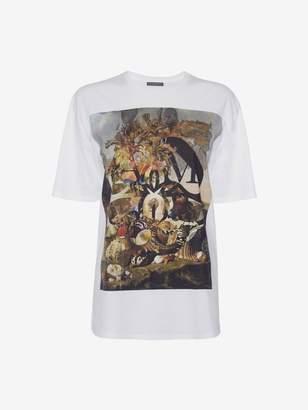 Alexander McQueen Shell Still Life T-Shirt