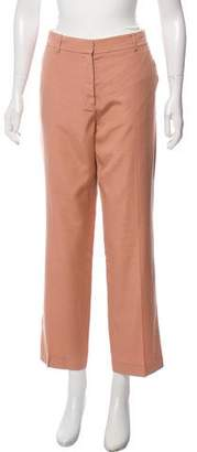 Stella McCartney Mid-Rise Straight-Leg Pants