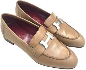Hermes Leather Flats