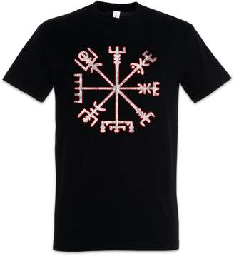 Celtic Urban Backwoods Vegvisir Viking Compass T-Shirt ? Pagan Walhalla