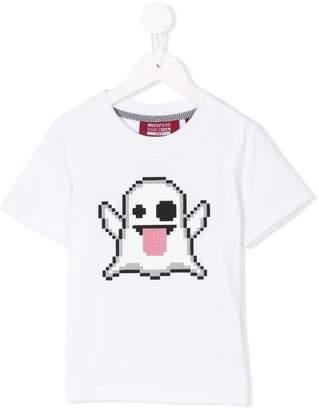 Mostly Heard Rarely Seen 8-Bit pixel ghost T-shirt