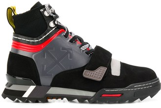 Off-White panelled arrows logo sneakers