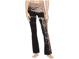 Hard Tail Rolldown Bootleg Flare Pants