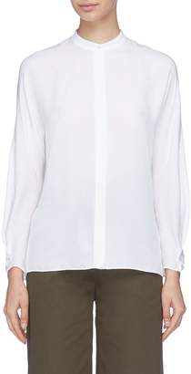 Vince Envelope sleeve split back silk shirt