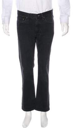 Acne Studios Cropped Straight-Leg Jeans