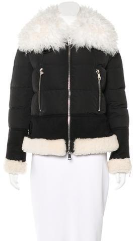 MonclerMoncler Kikilia Shearling Coat