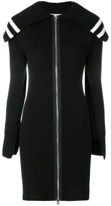 Givenchy zipped long cardigan