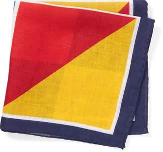 Ralph Lauren Nautical Linen Pocket Square
