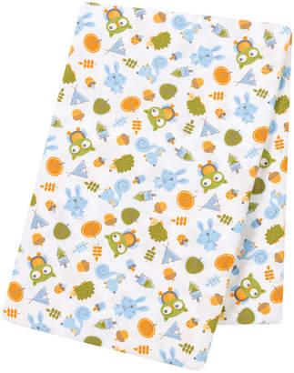 Trend Lab TREND LAB, LLC Animal Tepee Jumbo Flannel Swaddle Blanket