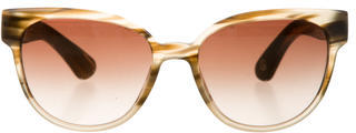 Paul Smith Marbled Gradient Sunglasses $125 thestylecure.com