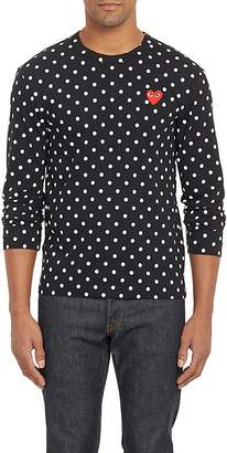 Comme des Garcons Men's Polka Dot Long-Sleeve T-shirt