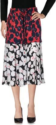 Jil Sander Navy 3/4 length skirts - Item 35323512WI
